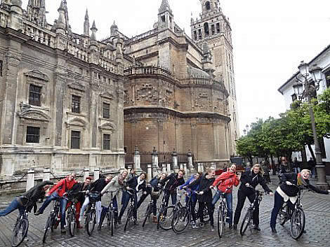 Rent a bike in Seville