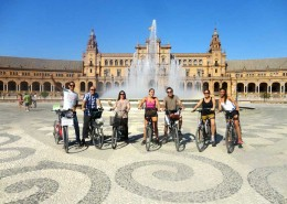 Bike tour Plaza de Espana
