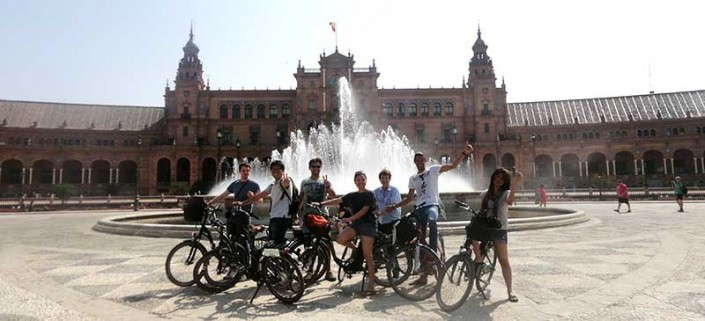 Electric bike tour Seville