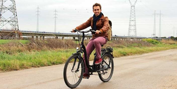 Italica-camino-bici electrica