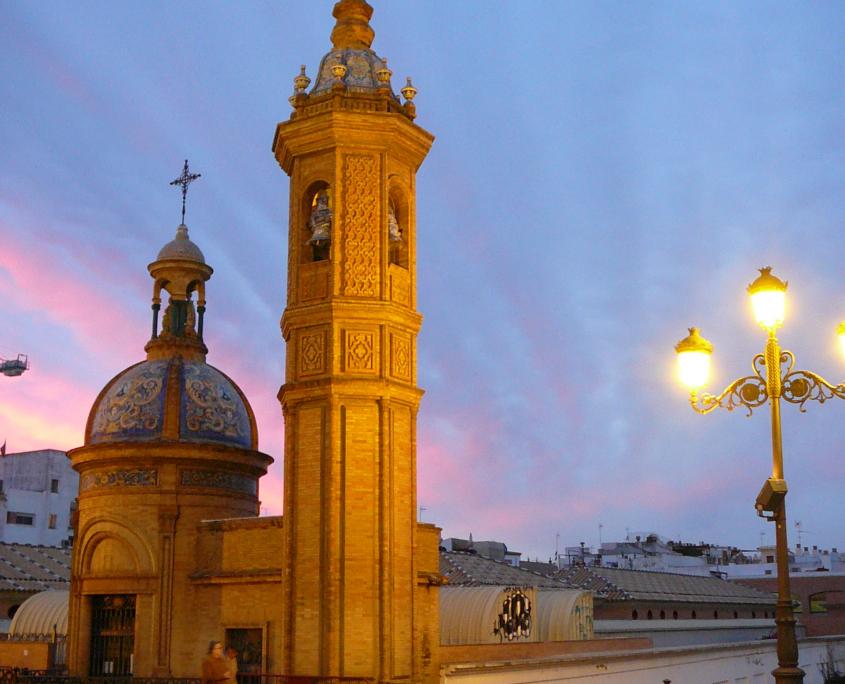 Ruta Sevilla puesta del sol